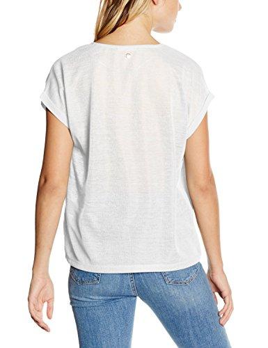 s.Oliver Damen T-Shirt Elfenbein (creme placed print 02D0)