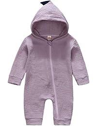SeniorMar 0-24 Meses bebé recién Nacido niñas Mono algodón Dinosaurios del estegosaurio Mamelucos Animales niños Pijamas Ropa…