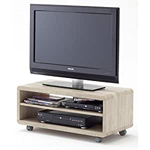 tv lowboard tv rack tv schrank james in eiche s gerau. Black Bedroom Furniture Sets. Home Design Ideas