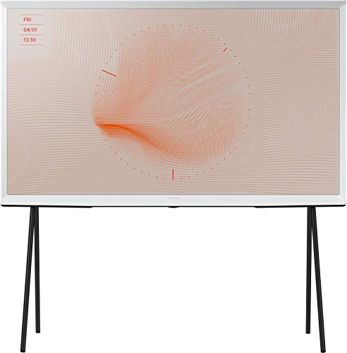 Samsung The Serif 2019 (55 inch) 4K HDR Smart QLED Television (White)