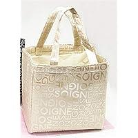 Preisvergleich für Yudanwin Leinwand-Lunch-Tasche Kreative Verdickung Tragbare Isolierung wasserdicht Lunch Box Bag (Gold)