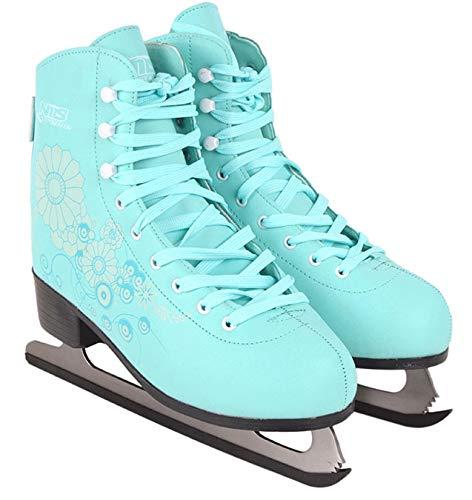 Schlittschuhe Eiskunstlauf # Kunstlauf Eiskunstlaufschuhe gefüttert Klassisch Damen & Mädchen EIS Sport Eislaufen NF8508 (37) -