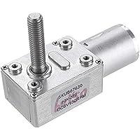 ZHFENG Machifit JGY370 DC 6V 30/10/90/150 rpm del motor de turbina micro engranaje de tornillo sin fin de bloqueo Reducción del motor de engranajes Herramienta de procesamiento de accesorios para má