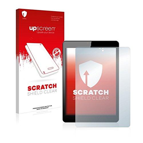 upscreen Scratch Shield Clear Bildschirmschutz Schutzfolie für Odys Connect 8+ (hochtransparent, hoher Kratzschutz)