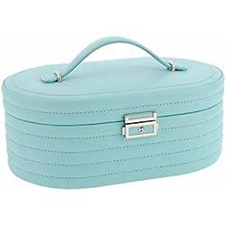 Jewelry oval tone topstitching Size: U Color: BLUE