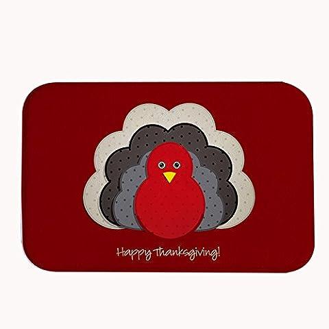 whiangfsoo Spotty Turchia Giorno del Ringraziamento Zerbino