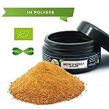 CiboCrudo Bacche di Acerola in Polvere Bio Crude, Powder Raw Organic - 100gr - Vitamina C Naturale, Biologica, Provenienza Brasile, Effetto Energizzante, Etichette in Italiano