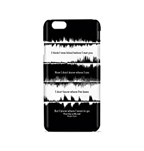 Bright Eyes Lyrics Mobile Back Cover Case For Apple iPhone 6 / 6s