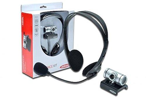 EDNET Web CAM+Headset 300 Conference Kit