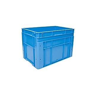 utz Euronorm-Stapelbehälter - Außen-LxBxH 600 x 400 x 420 mm - blau, VE 1 Stk - Box Euronorm Stapelkasten Euronorm Stapelkästen Euronorm-Stapelbehälter Euronorm-Stapelkasten Kiste Lagerkasten Mehrweg-Behälter Stapelkasten Transportkiste aus Kunststoff