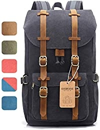 6199ff455c EverVanz Outdoor Canvas Backpack