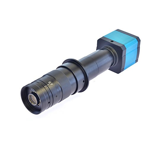 Generic HD 14MP HDMI 1080p USB Digital Industrie Video Inspektion Mikroskop Kamera Set TF Karte Video Recorder & 180x C-Mount-Zoomobjektiv