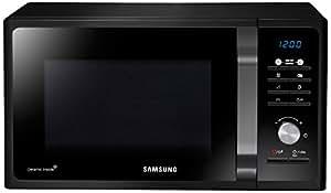 Samsung MG23F301TCK Forno a Microonde 800 W, Grill 1100 W, Capacità 23 L, Colore Nero