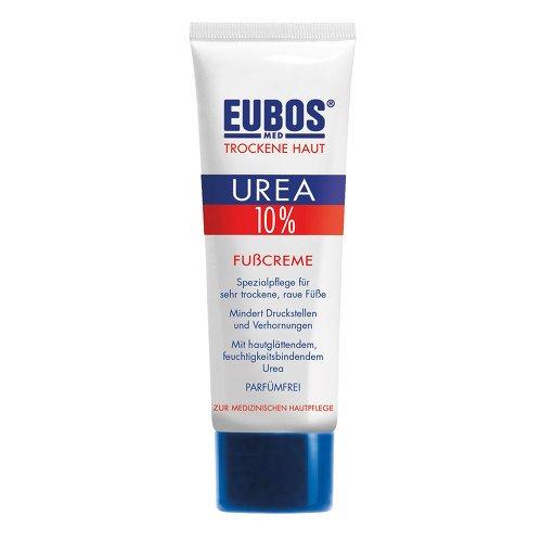 Duftende Fußcreme (EUBOS TROCKENE HAUT Urea 10% Fusscreme, 100 ml)