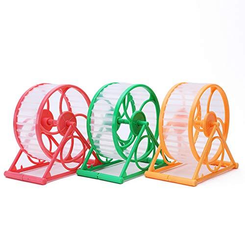 Preisvergleich Produktbild Godagoda 1 Stück Laufrad aus Kunststoff für Hamster Gerbilles Käfig