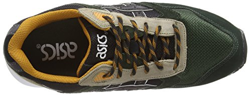 ASICS Gelsaga, Unisex Adults' Low-Top Sneakers Mehrfarbig (black/black 9090)