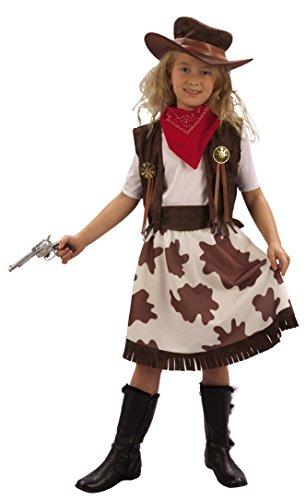 Imagen de disfraz de vaquera para niña