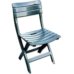 Set 4 sedie pieghevoli da esterno in plastica antiurto confezione 4 pz casa e cucina - Cassapanca plastica da esterno ...