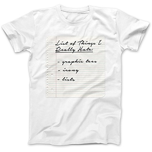 things-i-really-hate-funny-t-shirt-100-premium-cotton