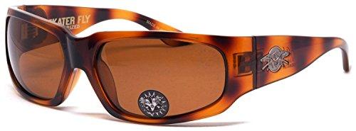 Black Flys - Skater Fly - Sonnenbrille polarisiert - Braun