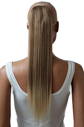 PRETTYSHOP Haarteil hairpiece Zopf Pferdeschwanz Haarverlängerung 60cm glatt diverse Farben HC26