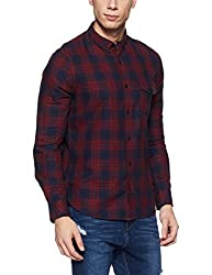 French Connection Mens Slim Fit Casual Shirt (52ISD/6_Shn-387_M)