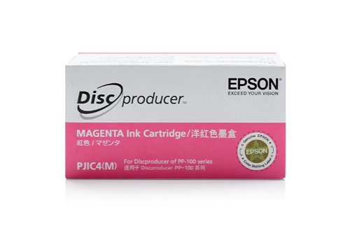 Epson Discproducer PP 50 - Original Epson C13S020450 / PJIC4 Magenta Tinte (Epson Discproducer)