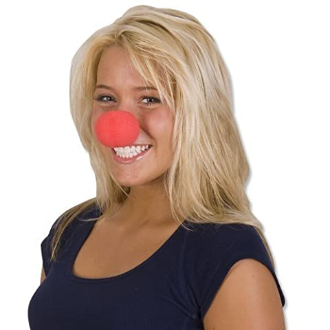 Rhode Island Novelty Foam Clown Noses, Red, by Red Clown Noses