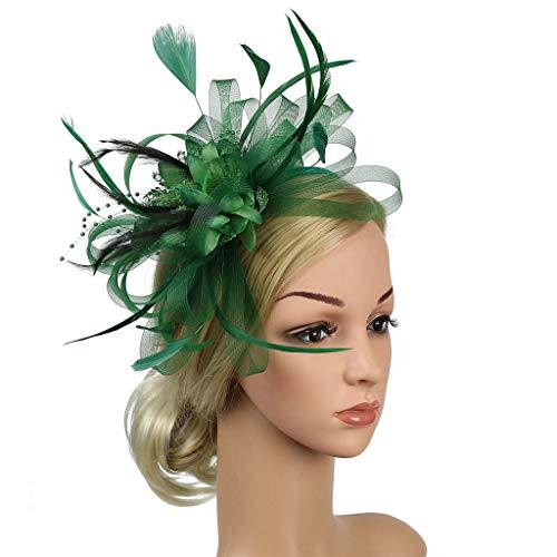 Sassta Stirnbänder Fascinators Hut Damen Cocktail Party Fascinator Haarreif Englische Tee Party ()