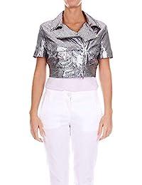 Amazon.it  Argento - Giacche e cappotti   Donna  Abbigliamento d73d6abfc97