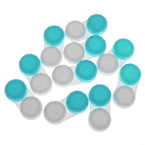Gazechimp 10 Stk. Kontaktlinsen Behälter Aufbewahrungsbehälter Linsenbehälter für Reisen Deinstreisen, günstig