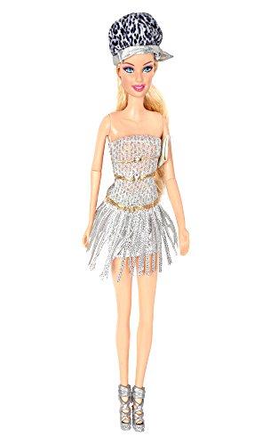 Damara Fashion Bandeau Tassel Dress Set For Doll by