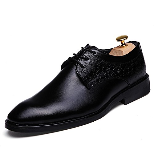 Men's Creepers Leather High Quality Moccasins Oxfords Shoes 216 black