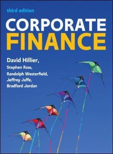 Corporate Finance: European Edition (UK Higher Education Business Finance)