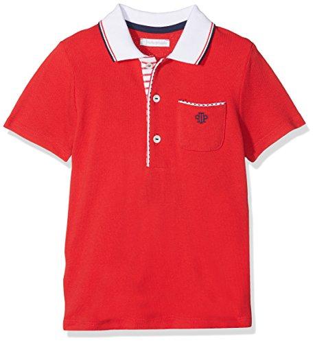 TUTTO PICCOLO Baby-Jungen 4814S18 Poloshirt, Rot (Red R00), 92 cm Tutto Piccolo