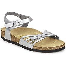 Birkenstock Bali, Women's Ankle-Strap Sandals, Silver (Argent Argent), 7 UK/40 EU