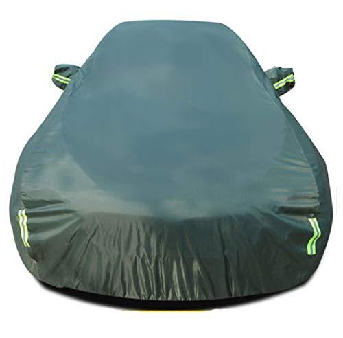 GHDTGS Coperture per Auto Traspiranti E Impermeabili per Auto Copertura per Neve A Grandezza Naturale Personalizzata per Interni Auto All'aperto,Green-Stelvio