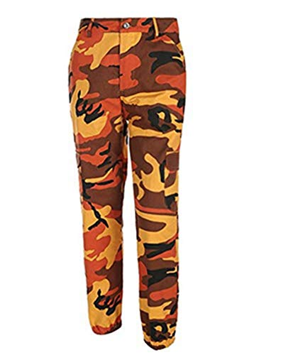 Hip Hop Women's Girls 'Military Camouflage Trousers Joggers Tracksuit Bottoms -
