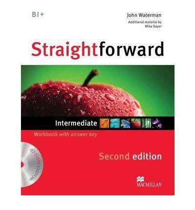 Straightforward Intermediate Level: Workbook with Key + CD (Paperback) - Common