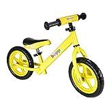 boppi Bicicleta sin Pedales de Metal para niños DE 2-5 Anos - Amarilla