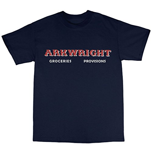 Open All Hours Inspired T-Shirt Baumwolle Marineblau