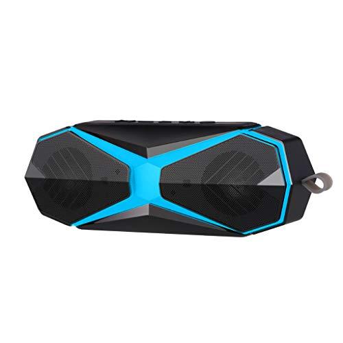 Tragbare Drahtlose Bluetooth-Lautsprecher 4.2 Wasserdichtes IPX7, 16W Bass Sound, Stereo-Paarung, Langlebiges Design Hinterhof, Im Freien, Reise, Pool, Home Party