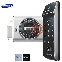 2Der klebrigen Schlüssel Tags + Samsung shs-2320Digital Türschloss Keyless-Touchpad Sicherheit SHS + Double Claw Bolzen