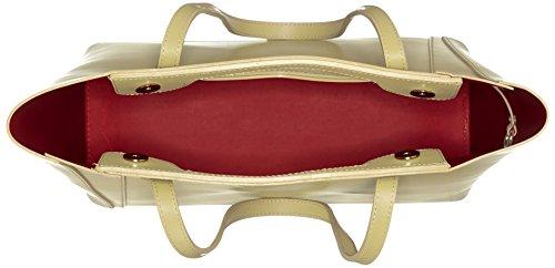 Chicca Borse 8610, Borsa a Spalla Donna, 40x38x14 cm (W x H x L) Giallo