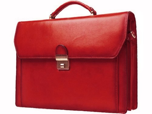 Katana Uomo Borsa con Maniglia Rosso (Rojo - rojo)