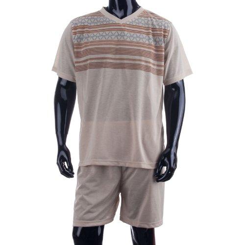 lucky-combinaison-de-plonge-pour-homme-avec-t-shirt-cuissard-court-pyjama-t-pression-modle-classique