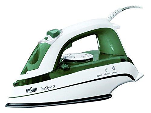 Braun TS 345 - Plancha (30 cm, 12 cm, 15 cm) Verde, Color blanco