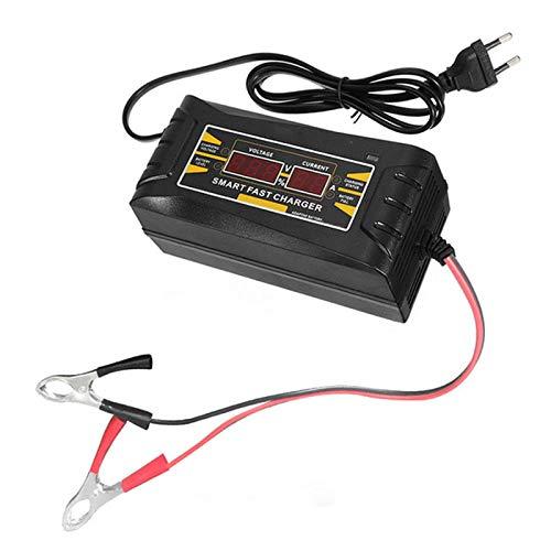 Cikuso Car del Caricatore della Spina della Batteria 12V 10A 6A Intelligente Automatica Piena Auto Smart Power Velocemente Il Carico per Wet Display LCD A Secco