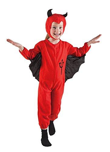 3 - 4 J. Teufel Jungen Mädchen Kinder Kostüm Horror Teufelchen Halloween 78004
