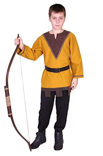 Medieval archer boy